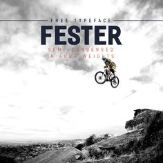 Fester free typeface is sans semi-condensed and it's available infour weights. With a strong impact, this sans-serif looks good and it will be great for posters, headlines, logos, flyers, or whatever your imagination decides. If you like it, don't forget to give some support as well as a good feedback to the author. Credits for:Nawras...