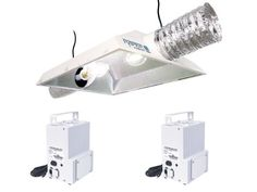 Hydrofarm Raptor 8 Air Cooled Dual Lamp Reflector  Powerhouse MHHPS Ballast Grow Light System Combo 1200W -- You can get additional details at the image link.