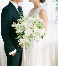 #WeddingBouquet - ślubny bukiet na Instagramie , fot. Instagram/thebridestory