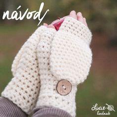 NÁVOD č.28...odklápěcí rukavice / Zboží prodejce Lucie handmade | Fler.cz