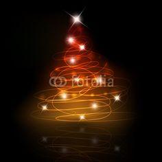 Albero di Natale scintillante - Christmas tree