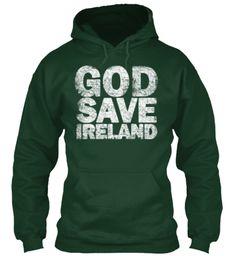 God Save Ireland Hoodie