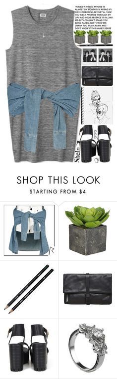 """""""you're not a work of art. you're a human being, and that means so much more."""" by alienbabs ❤ liked on Polyvore featuring MTWTFSS Weekday, Lydia Bright, Maison Margiela, Polaroid, clean, organized and shein"""