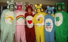 Halloween 2008 Coolest Homemade Costume Contest Runner-Up. Care Bears Group costume submitted by Kevin from Grand Rapids, MI...