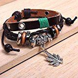 #8: Ysiop Men Women Retro Leather Bracelet Bohemia PU Braid Wristband Wood Beads Hemp Rope Wraps and Bangles http://ift.tt/2cmJ2tB https://youtu.be/3A2NV6jAuzc