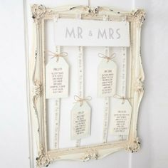 Vintage Style Frame for Wedding Table Plan - Unique & Unusual DIY, http://www.amazon.co.uk/dp/B00DD4436C/ref=cm_sw_r_pi_awd_QUBpsb1A1M448