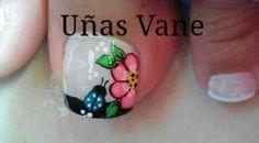 Toe Nail Art, Toe Nails, Spring Nails, Triangles, Nail Art Designs, Feet Nails, Designed Nails, Flower, Make Up