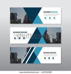The 3849 best creative ideas images on pinterest in 2018 blue black triangle abstract corporate business banner template horizontal layout template banner template fbccfo