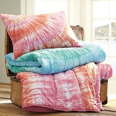 How to tie dye bed sheets, bed linen, bedding or cotton fabric #BedSheets #tiestobed