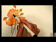 Watercolour with distress stains Video tutorial