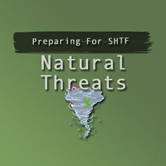 Pinterest board dedicated to natural threats. You can find my other posts dedicated to emergency preparedness at http://prepforshtf.com