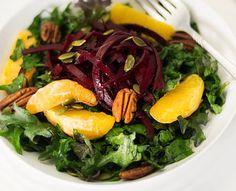Beet Salad with Arugula and Oranges