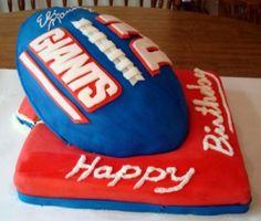 NY Giants Cake