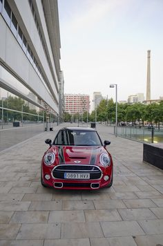 Some photos I took during the MINI Cooper S F56 Test Drive with @thecomminity