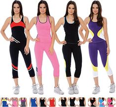 Enimay Womens 2 Piece Yoga Gym Suit Outfit Athletes First Choice Workout Gear >>> Continue to the product at the image link. (This is an affiliate link) #ActiveTopBottomSets
