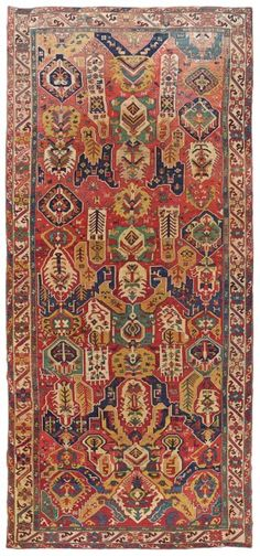 SOUTH CAUCASIAN DRAGON CARPET PROBABLY KARABAGH, CIRCA 1800 17ft.9in. x 7ft.10in. (540cm. x 238cm.)