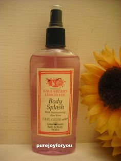 Bath & Body Works Strawberry Lemonade Body Splash