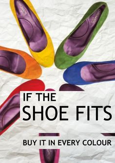 If the shoe fits...buy it in EVERY color! #shoequotes _____________________________ For #shoes, please visit http://RedCarpetDeals.info