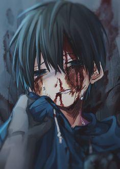 Stop it father Antonio kid Dark Pictures, Creepy Pictures, Pictures To Draw, Anime Oc, Sad Anime, Kawaii Anime, Anime Style, Yandere, Image Manga