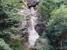 Sculpture of the Erlkönig in Jena, Germany