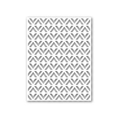 Simon Says Stamp TRIANGLE PATTERN Wafer Dies sssd111407 Cold Hands Warm Heart