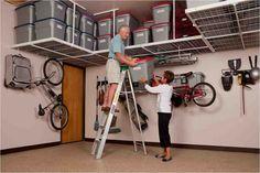 Garage Ceiling Shelving