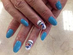 I love thunder nails art nails pinterest thunder okc thunder nail prinsesfo Image collections
