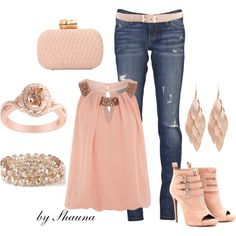 Champagne dreams, created by shauna-rogers on Polyvore