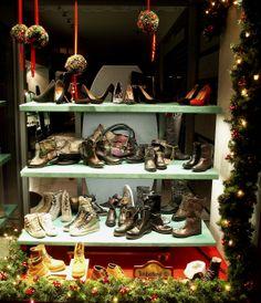 Natale 2013 - Vetrina scarpe donna