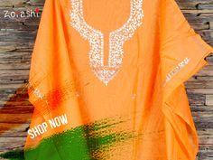 Dress up in Saffron colour,this republic day with Zoyashi! #Saffron #RepublicDayOfIndia #TriColor #MadeInIndia #FestivalOfTheNation #IndianApparel #Kurtas #HandmadeWithLove