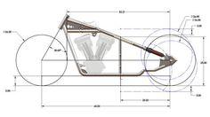 New Bobber Plans Instant Download Rigid Chopper Frame Plans Or