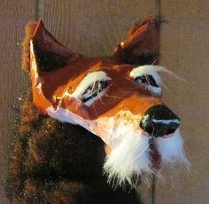 Wise Fox Puppet