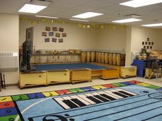 Music at Bert Raney Elementary: Pictures of the Classroom- Look at that awesome rug! Minion Classroom, Classroom Layout, Classroom Design, Music Classroom, Classroom Decor, Music Teachers, Elementary Music, Elementary Schools, Eagle Scout Project Ideas