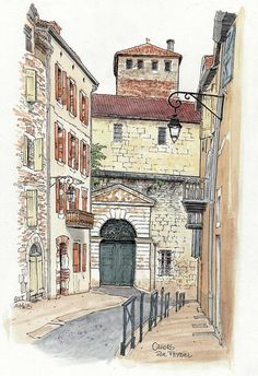 Cahors, rue Feydel | Flickr - Photo Sharing!