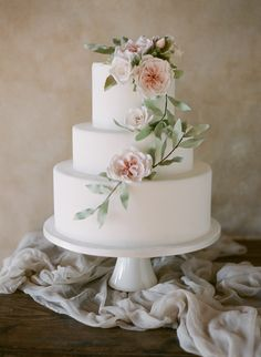 45 Chic and Classy Wedding Cake Inspiration, textured wedding cake, chic wedding cakes, wedding cake ideas Textured Wedding Cakes, Floral Wedding Cakes, Elegant Wedding Cakes, Beautiful Wedding Cakes, Wedding Cake Designs, Wedding Cake Toppers, Dream Wedding, Chic Wedding, Wedding Cake Flowers