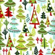 Love these funky fir trees! #fabric #cotton :)