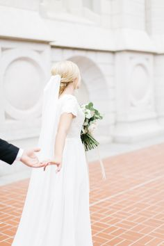 Salt Lake City Temple Bridals // Utah Wedding Photographer // kenzievictory.com