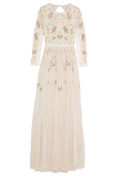 Needle & Thread Embellished Tulle Gownbestproductscom