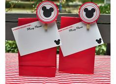 Messages from Mickey - If the kids are good, Mickey will stop by the room at night and leave a little gift for them to have when they wake up each morning. - Same idea as Tinkerbell gifts but maybe a little more boy friendly.