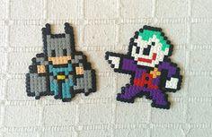 Batman and Joker hama beads
