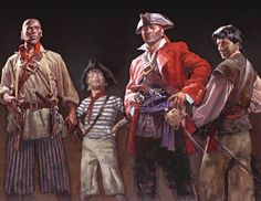 paintings of pirates | Ahoy mateys! Meet some of the pirates of the Whydah.