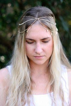 Grecian Head Piece | Atarah Jewel Online Store South African Shop, Head Piece, Bobby Pins, Shops, Hair Accessories, Crown, Jewels, Random, Beauty
