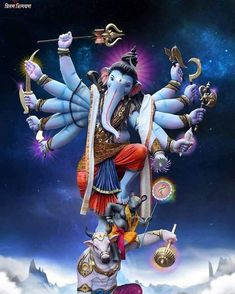 Ganesha wallpaper by sarushivaanjali - 93 - Free on ZEDGE™ Ganesh Wallpaper, Lord Shiva Hd Wallpaper, Shri Hanuman, Shri Ganesh, Ganesha Art, Shiva Art, Krishna Art, Hindu Art, Ganesha Pictures