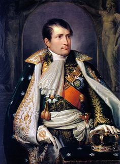 Appiani, Andrea (1754-1817) - 1805 Napoleon, King of Italy    Andrea Appiani was an Italian neoclassical painter. He was born in Milan. He had been intended to follow his father's career in medicine but instead entered the private academy of the painter Carlo Maria Giudici (1723–1804). He received instruction in drawing, copying mainly from sculpture and prints. He then joined the class of the fresco painter Antonio de' Giorgi, which was held at the Ambrosiana picture gallery in Milan. He…