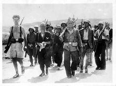 1936, agosto. La Compañía Thaelmann (comunistas alemanes), en Tardienta, cerca de Huesca.