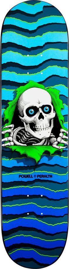 """Powell Peralta New School Ripper 8.25"""" X 32.5"""" Skateboard Deck"""
