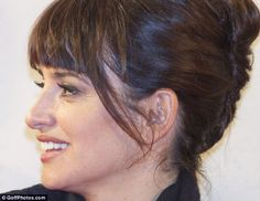 Alternative: Penelope Cruz was last night spotted with acupuncture needles in her ear - a sign that she is undergoing auriculotherapy