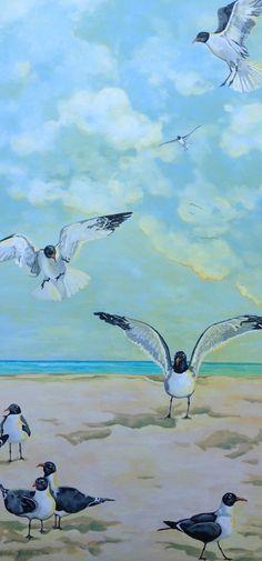 Seagull Painting www.markballard.com
