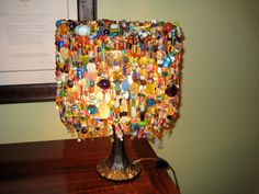 The Key to Peace is Love Lamp by katherynghill on Etsy, $300.00