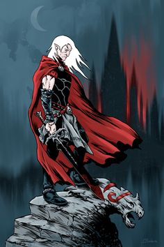 Elric of Melnibone by BatMiB.deviantart.com on @DeviantArt